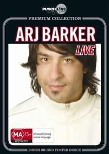 Punchline Premium - Arj Barker : Live DVD )--free postage
