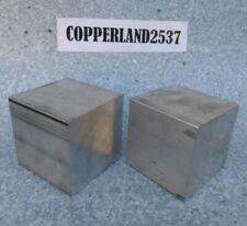 2 pc 3X3X3 new 6061 solid aluminum stock plate flat bar cnc mill shop tool