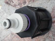 Adapter S60x6 mit Klick ( Gardena Ähnlich ) zubehör IBC Fass 1000L Kunststoff