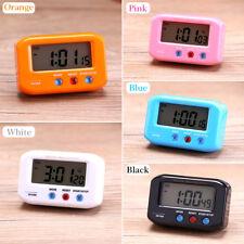 """2.7"""" Portátil LCD Pantalla Mini Hora Fecha Despertador Digital Retroiluminación"""