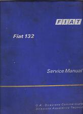 FIAT 132 FACTORY WORKSHOP MANUAL service repair maintenance 1973-75