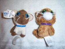 2 The Cat Artist Collection McDonald's Happy Meal 2005 Siamese & Somali