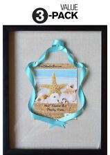 """(3-Pack) 12x15"""" Display Shadow Box Frame with Linen Background and 8 Stick Pins"""