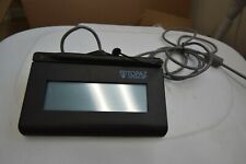 Topaz T-Lbk460-Bsb-R SigLite Lcd 1x5 Electronic Signature Pad Untested #S62
