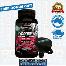 Hydroxycut Hardcore Elite 100 MuscleTech Weight Loss Fat Burner Supplement 2017