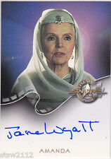 STAR TREK CINEMA 2000 A13 JANE WYATT AMANDA SPOCK'S MOTHER AUTOGRAPH