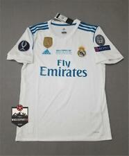 Maglia Real Madrid 2017-2018 Uefa Supercup Final - Calcio Ramos Ronaldo Camiseta