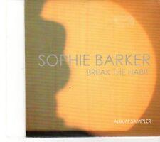 (EY865) Sophie Barker, Break The Habit sampler - 2014 DJ CD