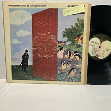 George Harrison Wonderwall Music Apple 3350 VG+/VG+ LA Press