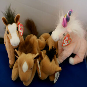 HORSES and UNICORNS ***TY BEANIE BABIES***