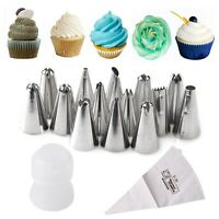 14 Pcs Russian Flower Icing Piping Nozzles Cake Decoration Tips Baking Tools