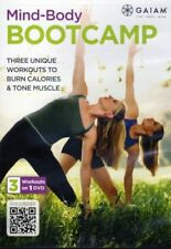 Yoga, Pilates and Kickboxing DVD - MIND BODY BOOTCAMP - 3 workouts