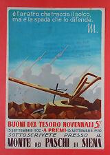 6728) Monte dei Paschi di Siena Buoni del Tesoro - viaggiata 1942 -