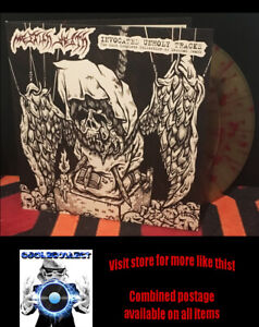 Messiah Death – Invocated Unholy Tracks - Italy 2LP coloured vinyl (2020)