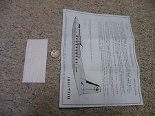 Flightpath decals 1/94 FP10-01 Northwest Airlines Fokker F27  Box 9