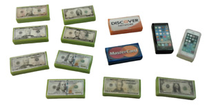 Custom MOC City Building Bricks Toys Mini Money Tiles Compatible with all Brands
