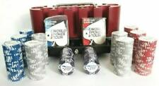 World Poker Tour 300 Piece Poker Chip Set With Cherry Chip Rack