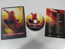 SPIDER-MAN 1 DVD SLIM MARVEL PORTADA HOLOGRAFICA UNICA!!!