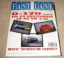 Fast Lane 1989 F40 v 959 v Lister Koenig Testarossa Cabr Barabus Q2S v Q3T v Q2