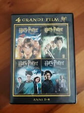 Harry Potter 1 2 3 e 4 - 4 Grandi Film - DVD - ITA - Come Nuovo