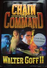 Chain of Command by Walter Golf (1998, Hardcover) SIGNED BY AUTHOR-FREE SHIPPING