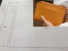 Leather Pattern DIY Designs Bag Paper Sweing Template Drawing Tools 9078