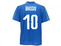 Maillot Officiel Italie Baggio Équipe Nationale Fédération Figc Roberto 10 Queue