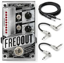 New DigiTech FreqOut Natural Feedback Creator Guitar Effects Pedal