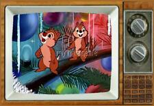 "CHIP 'n' DALE TV Fridge MAGNET 2"" x 3"" nostalgic retro Pluto's Christmas tree"