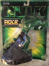 Smash and go HULK with punching action! #70522 marvel 2003 by Toy Biz. NIB!!
