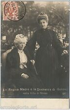 56024 -- CARTOLINA d'Epoca - FOTOGRAFICA  REALI: Regina Madre a STRESA 1920
