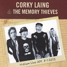 CORKY LAING & THE MEMORY THIEVES - IRIDIUM LIVE 005 8-1-2012 (New & Sealed) CD