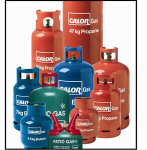 COLLECTION ONLY 12KG Calor Gas Bottle Butane Propane caravan camping
