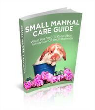 Small Mammal Care Guide Free Shipping PDF