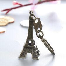 Paris Eiffel Tower Key Chain Toy Festival Gift Bag Decor Key Ring Pendant Bronze