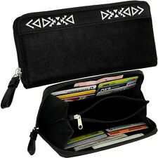 Esprit Purse Womens Wallet Purse Velvety Black Purse Wallet New