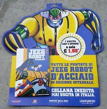 """JEEG ROBOT D'ACCIAIO"" DVD N.1 SIGILLATO SERIE TV GO NAGAI ANNI 80 (PANINARO)"