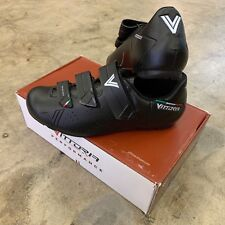 Vittoria Rapide GT Road Touring Spin Cycling Shoes Black Size 43