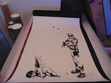 Antony Anthony Micallef Friendly Fire Art Poster Print POW Banksy Dolk Whatson
