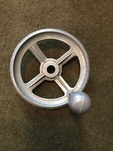 Vintage Clausing South Bend Bridgeport LeBlonde Lathe Milling Machine Hand Wheel