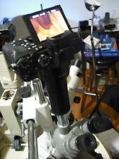 Olympus 2 Canon FULL FRAME  Trinocular 23.2, 30 mm Camera Adapter BH BH2 CH CH2