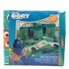 Disney Pixar Finding Dory Microfiber Twin Sheet Set 3 Piece