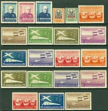 EDW1949SELL : DOMINICAN REPUBLIC Nice collection of all MOG sgls & sets Cat $106