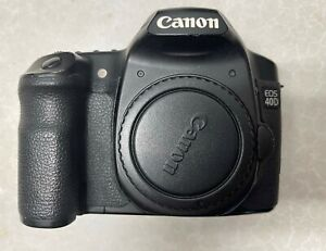 Canon EOS 40D Digital SLR Camera *FOR PARTS* AS IS
