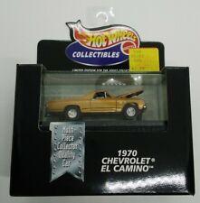 Hot Wheels Collectibles Limited Edition 1970 Chevrolet EL CAMINO 1998 1:64 MIP!