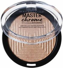 Maybelline Studio Master Chrome Metallic Highlighter, Molten Gold 0.24 oz