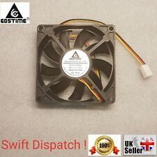 DC 12V 3Pin 80mm 8cm 80x80x15mm 80x15mm Brushless Computer Cooling Cooler Fan UK