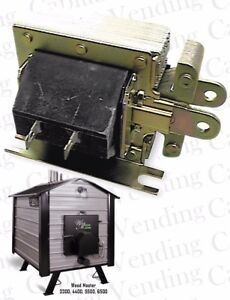 Drop-In Replacement Solenoid for Wood Master Wood Burning Furnace - Fits Many
