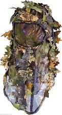 Jack Pyke Camo Camouflage Leafy 3D Leaf Hunting Balaclava Head Net Face Mask