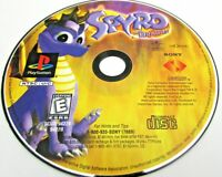 PS1 Spyro the Dragon Sony (PlayStation1 9, 1998) Disc Only